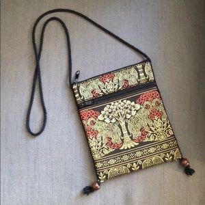 Small ornate Thai purse